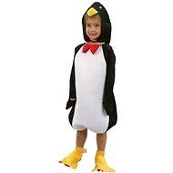 Šaty na karneval - Tučniak veľ. XS - Detský kostým
