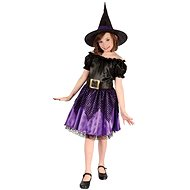 Šaty na karneval - Čarodejnica vel. S - Detský kostým
