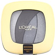 ĽORÉAL PARIS Color Riche Les Ombres Shocking S11 Fascinating Silver 2,5 g - Očné tiene