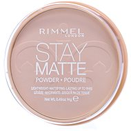 RIMMEL LONDON Stay Matte 14 g - Odtieň: 001 Transparent - Kompaktný púder