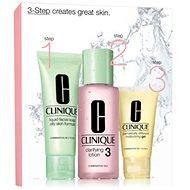 CLINIQUE 3 Step Skin Care System 3 - zmiešaná až mastná pleť - Súprava výrobkov na čistenie pleti