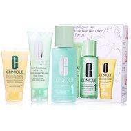 CLINIQUE 3 Step Skin Care Typ 1 - veľmi suchá až suchá zmiešaná pleť - Súprava výrobkov na čistenie pleti