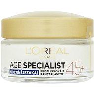 ĽORÉAL PARIS Age Specialist 45+ Night 50 ml - Pleťový krém
