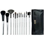 ROYAL & LANGNICKEL Brush Essentials™ Kit 12 pcs Silver - Súprava kozmetických štetcov