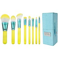 ROYAL & LANGNICKEL Love is... Hopeful™ Travel Brush Kit 8 pcs Yellow - Súprava kozmetických štetcov
