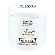 SEZMAR PROFESSIONAL Bath Salts Orange and Cinnamon 500 g - Soľ do kúpeľa