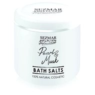 SEZMAR PROFESSIONAL Bath Salts Pearl and Musk 500 g - Kúpeľová soľ