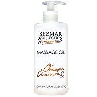 SEZMAR PROFESSIONAL Massage Oil Orange and Cinnamon 500 ml - Masážny olej
