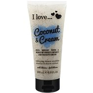 I LOVE… Exfoliating Shower Smoothie Coconut & Cream 200 ml - sprchový peeling