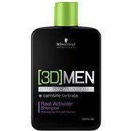 SCHWARZKOPF Professional [3D] Men Root Activator Shampoo 250 ml - Šampón