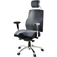 Therapia Professional PRO700 - čierno / sivá, XXL - Kancelárska stolička