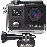 Kamera LAMAX Action X8.1 Sirius + čelenka, plavák, náhradná batéria - Kamera