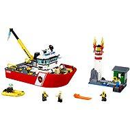 LEGO City 60109 Hasiči, Hasičský čln - Stavebnica