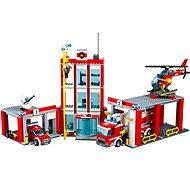 LEGO City 60110 Hasiči, Hasičská stanica - Stavebnica