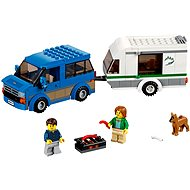LEGO City 60117 Skvelé vozidlá, Dodávka a karavan - Stavebnica
