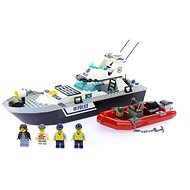 LEGO City 60129 Polícia, Policajná hliadková loď - Stavebnica