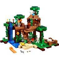 LEGO Minecraft 21125 Dom na strome v džungli - Stavebnica