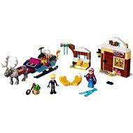 LEGO Disney Princess 41066 Dobrodružstvo na saniach s Annou a Kristoff - Stavebnica