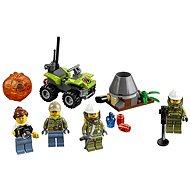 LEGO City 60120 Sopeční prieskumníci, Sopečná štartovacia súprava - Stavebnica