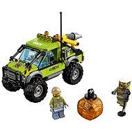 LEGO City 60121 Sopečtí prieskumníci, Sopečné prieskumné vozidlo - Stavebnica