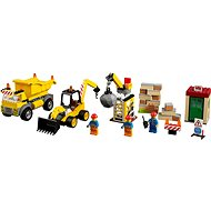LEGO Juniors 10734 Demolačné práce na stavenisku - Stavebnica