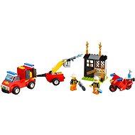 LEGO Juniors 10740 Kufrík hasičské hliadky - Stavebnica