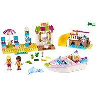 LEGO Juniors 10747 Andrea a Stephanie na dovolenke na pláži - Stavebnica