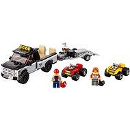 LEGO City 60148 Pretekársky tím štvorkoliek - Stavebnica