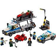 LEGO City 6043 Polícia, Krádež transportéra áut