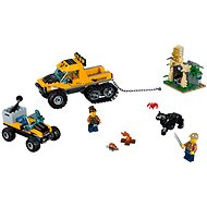 LEGO City Jungle Explorers 60159 Obrnený transportér do džungle - Stavebnica