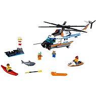 LEGO City Coast Guard 60166 Výkonná záchranárska helikoptéra - Stavebnica