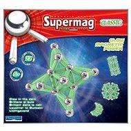 SUPERMAG - Klasik fosforeskujúci - Magnetická stavebnica