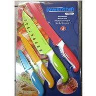 Lowenthal Set nožov s antibakteriálnou úpravou farebný - Set nožov