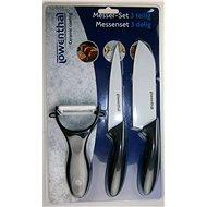 LTLM Set nožov a škrabka s keramickým povrchom - Súprava nožov