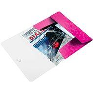 LEITZ Wow 150 listov - metalická ružová - Dosky na spisy