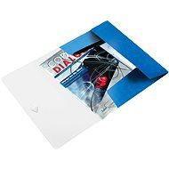 LEITZ Wow 150 listov - metalická modrá - Dosky na spisy