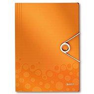 LEITZ Wow 150 listov - metalická oranžová - Dosky na spisy