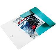 LEITZ Wow 150 listov - ledovo modrá - Dosky na spisy