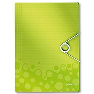 LEITZ Wow 150 listov - metalická zelená - Dosky na spisy