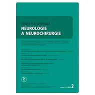 Česká a slovenská neurológie a neurochirurgie - Elektronický časopis