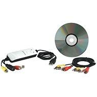 Manhattan USB Audio/Video Grabber - Externé záznamové zariadenie