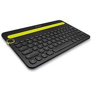 Logitech Bluetooth Multi-Device Keyboard K480 CZ čierna