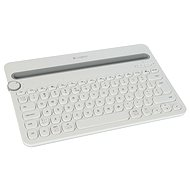 Logitech Bluetooth Multi-Device Keyboard K480 biela - Klávesnica