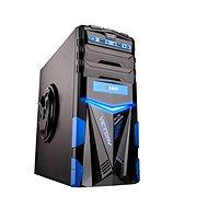 C-TECH ARES čierno-modrá - Počítačová skriňa