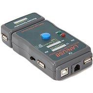 Gembird NCT-2 Ethernet kábel tester pre UTP, STP, USB - Nástroj