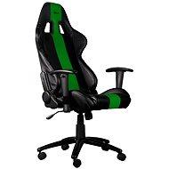C-TECH PHOBOS čierno-zelená - Herná stolička