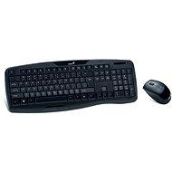 Genius KB-8000X CZ+SK čierna - Súprava klávesnice a myši