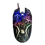 A4tech Bloody N50 Neon čierna s neónovým podsvietením - Myš