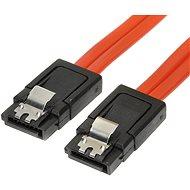 dátový k HDD SATA 3.0, 1xHDD, 0.5m, západky - Dátový kábel