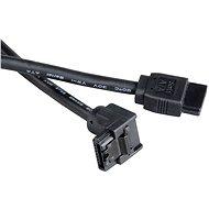 AKASA SATA 50 cm, čierny - Dátový kábel